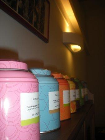 La Table des Saisons: belle selection de thés Palais des thés