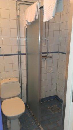 Brofastet Hotel & Konferens : Bad dusch