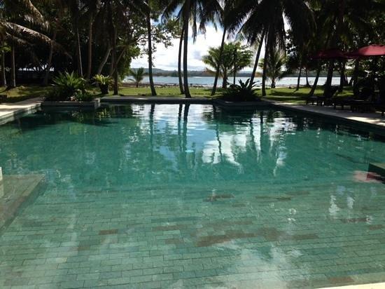 Eratap Beach Resort: the protected pool