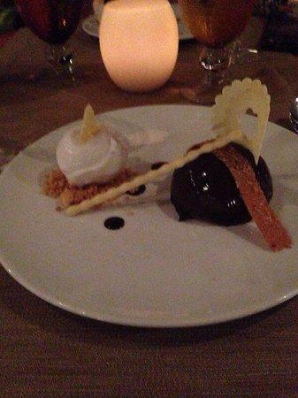 Constance Ephelia : dessert squisito al ristorante adam&eva