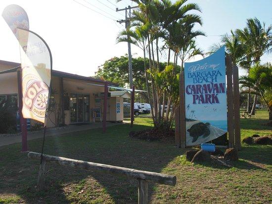 Bargara Beach Caravan Park : Entrance / kiosk