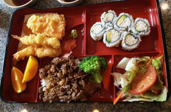 teriyaki beef bento box picture of one more sushi vancouver tripadvisor. Black Bedroom Furniture Sets. Home Design Ideas