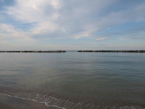 Hotel Ermitage: Das Meer...