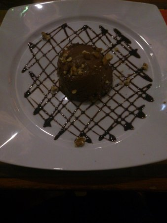 Inn Bufalito Taverna Mediterranea: Dessert of the day (Chocolate mousse)