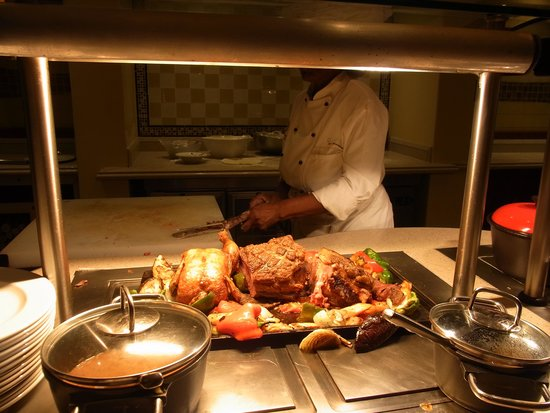 AVANI Windhoek Hotel & Casino: 夕食