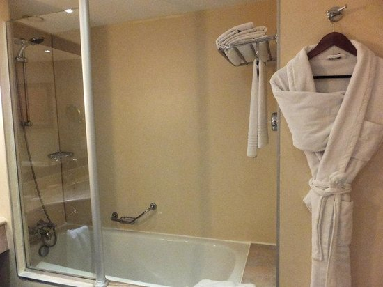 Steigenberger Hotel Maslak Istanbul: バスルーム