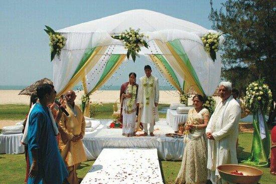 Varca Palms Beach Resort: Wedding