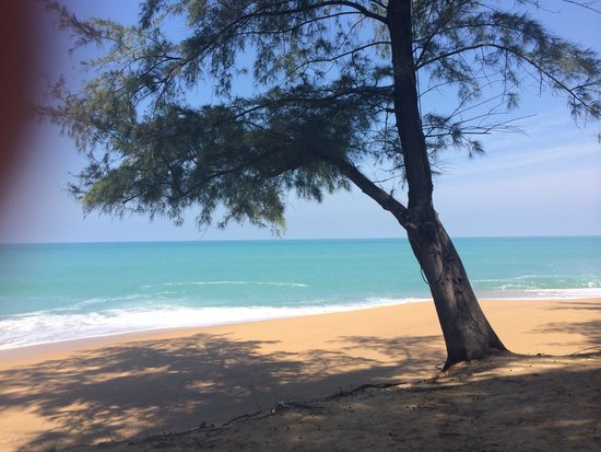 Renaissance Phuket Resort & Spa: Strand vor Hotel