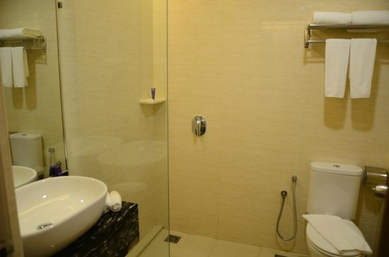 Metro Hotel : clean bathroom