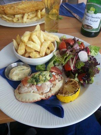 No1 Cromer & Ice Cromer: Crab Salad....Yum!