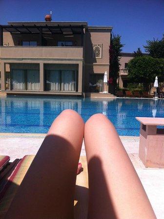 Spice Hotel & Spa: бассейн, вид с номера