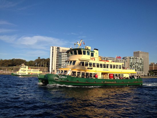 Sydney Ferries: Try it!  Bring your camera!