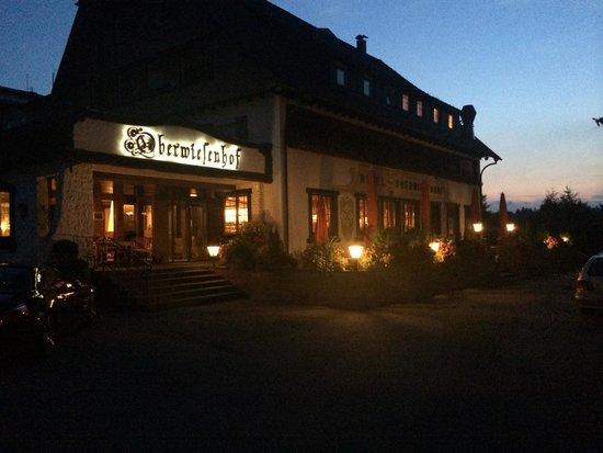 Hotel Oberwiesenhof: Eingang