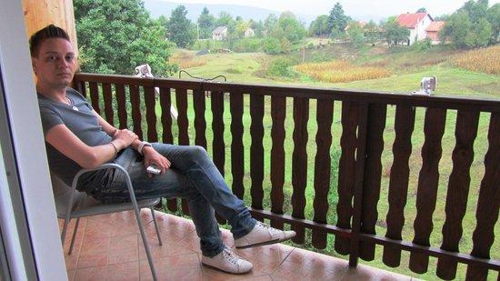 Hotel Mirjana & Rastoke: View from the terrace