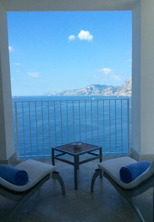Casa Angelina : vue splendide de la chambre