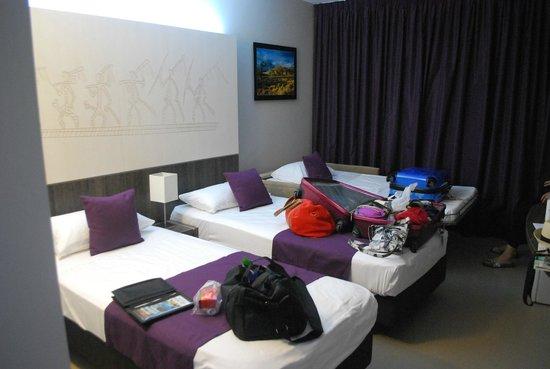 Hotel Beaurivage : la chambre