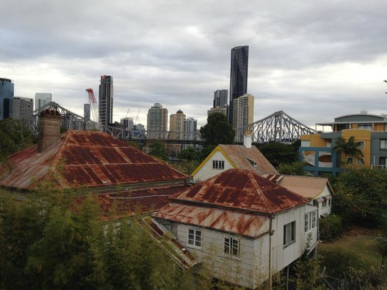 Spicers Balfour Hotel: view from rooftop