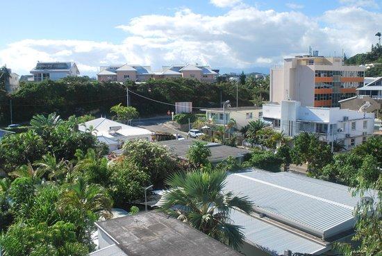 Hotel Beaurivage : vue sur la ville