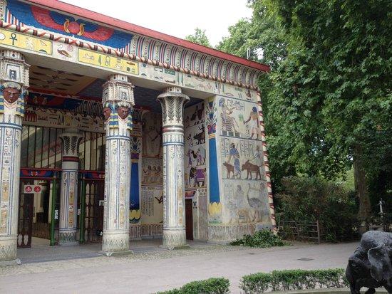 Antwerp Zoo (Dierentuin) : Zoo d'Anvers - Le Pavillon égyptien