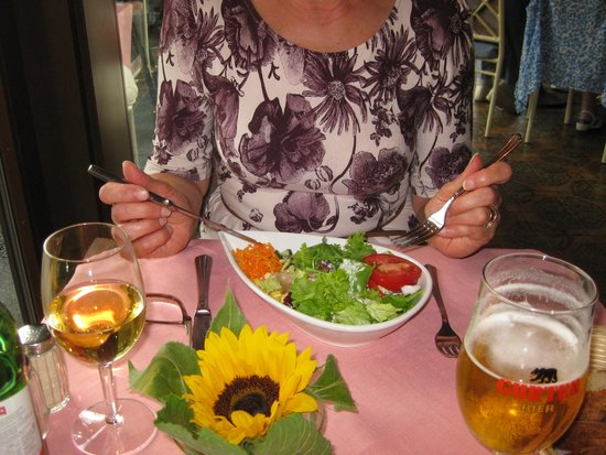 Seegarten Marina Pizzeria : Starter Salad  (9sfr)