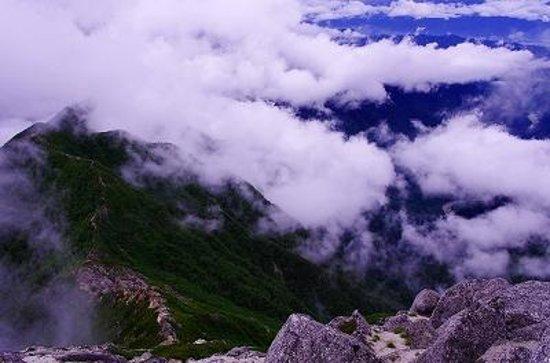 Kai Komagatake : 登山道