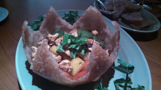 Park Hyatt Saigon : Sticky Rice bowl with scallops in SquareOne