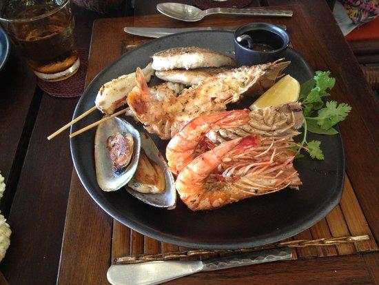 Rayavadee Resort: Favourite dish - really fresh