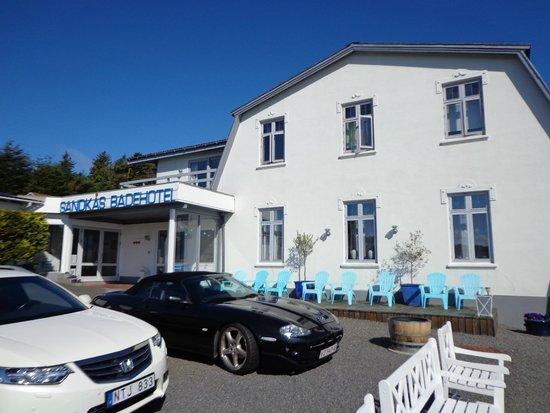 Sandkaas Badehotel: Velkommen