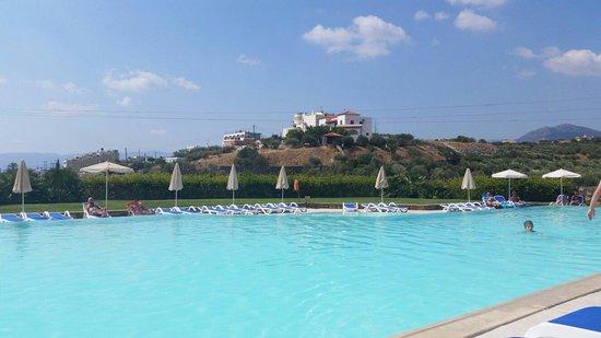 Mirabello Beach & Village Hotel : Village pool