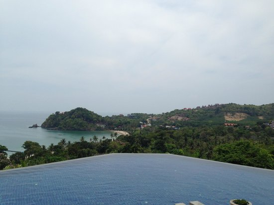 Pimalai Resort and Spa: View from upper swimming pool