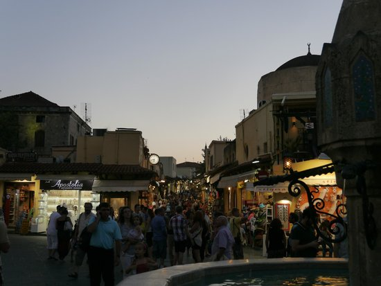 Holiday Village Rhodes : Rhodes Town