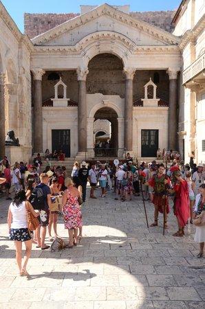 Diokletianpalast: Palace