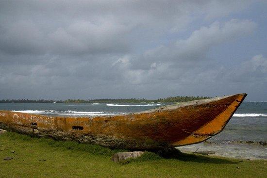 Yandup Island Lodge: Foto van onbewoond eilandje tijdens excursie