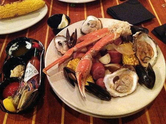 Dudley's: low country boil. amazing