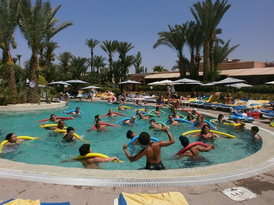 Royal Decameron Issil: aquagym a la piscine