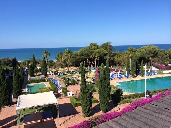 Hotel Fuerte Conil: vue de notre chambre