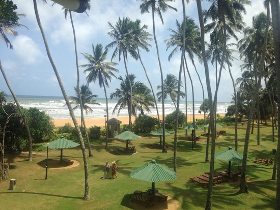 Tangerine Beach Hotel: View from room 323