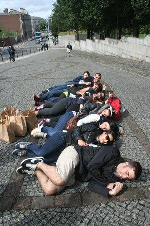 SANDEMANs NEW Europe - Dublin: De como dormían los Vikingos.......
