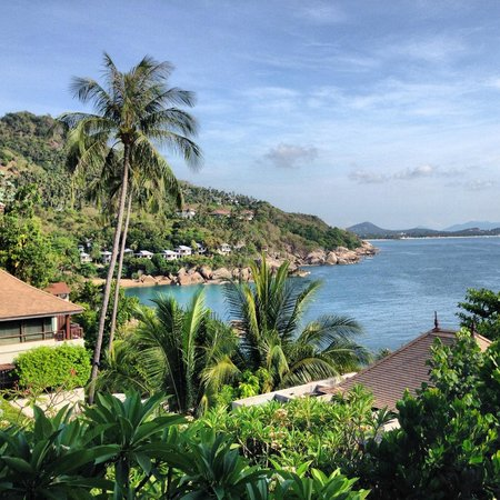 The Kala Samui: View of Paradise from Reception