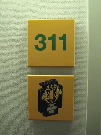 Hotel LEGOLAND: Numérotation des chambres