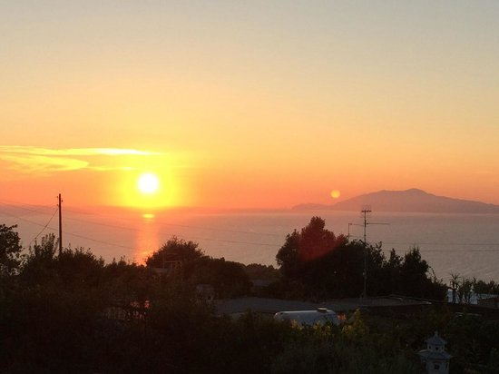 Il Giardino dell'Arte: Sunset view from the terrace
