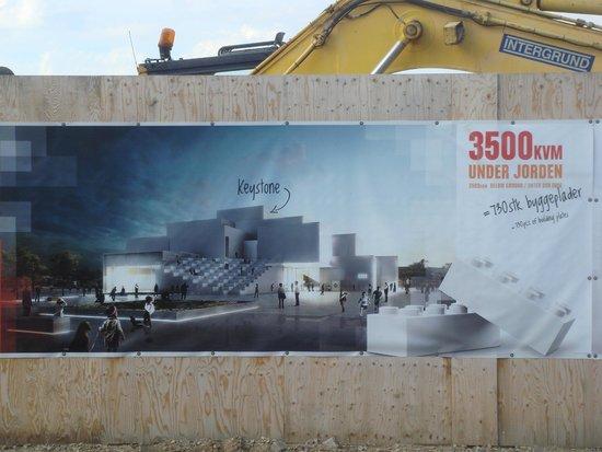 Hotel LEGOLAND: Projet en cours de construction non loin de l'hôtel Part 2
