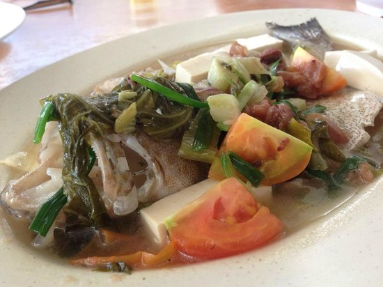Little Town Seafood Restaurant: teh chew style steamed fish