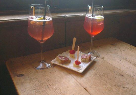 Castel Pergine : Aperitivo del giorno