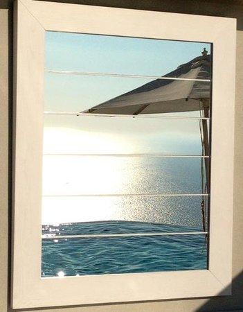 Relais Blu Belvedere: piscine a debordement