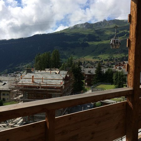 W Verbier : View from the room