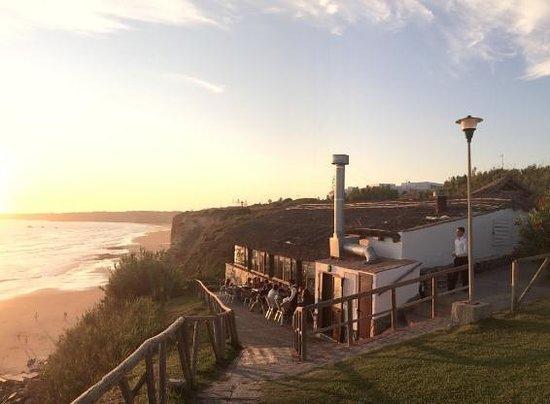 Mirador Roqueo: Mirador del Roqueo. Terraza. Atardecer.