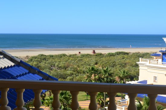 Hotel Melia Atlantico Isla Canela: Vistas desde la habitación