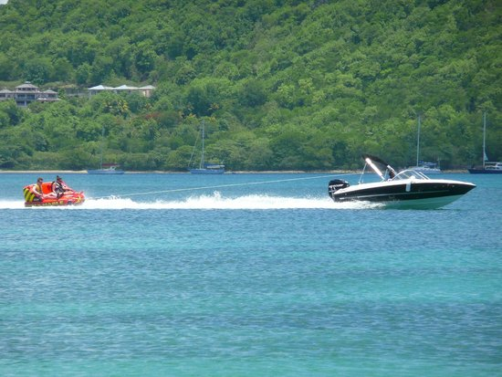 The Landings St. Lucia: Fun on the hotel boat!