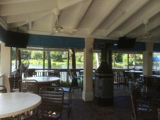 Trianon Bonita Bay: bar restaurant
